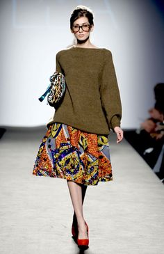 African Prints in Fashion: The Stella Jean FW 2012-2013 collection