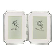 Discover the Kate Spade Sullivan Street Hinged Double Frame - 4x6 at Amara