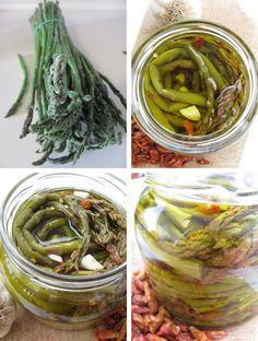 marynowane w oliwie