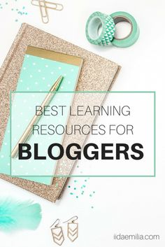 As a blogger it is very important that you educate yourself and keep learning new things. Here are my best learning resources for bloggers