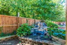 This #Custom #Outdoor #Fountain has been adored by many for its relaxing ambiance in the #BackyardOasis Contact me today for a private tour 301.606.3703 www.michelle.jimbassgroup.com