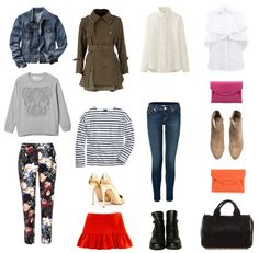 ** Travel Essentials, Ideas Para, Polyvore, Image, Fashion, Suitcases, Spring, Style, Clothing