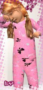 Sims2Cri: pink pj