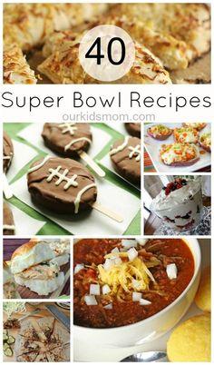 40 Super Bowl Recipes | Main Dishes, Sides, Snacks & Desserts