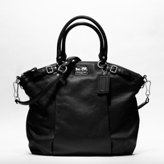 $398.00 Madison Leather Lindsay satchel COACH. This might be the one.