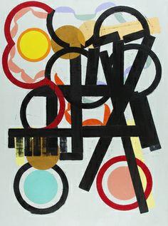 "Saatchi Art Artist Julien Porisse; Painting, ""Circles & Structures"" #art"