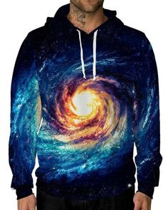 The Big Bang Unisex Hoodie-male front