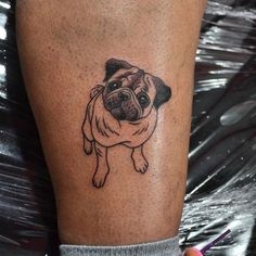 Pin for Later: 20+ Tattoo Ideas Inspired by Our Favorite Furry Friends — Our Pups!