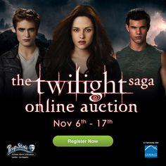Prop Store, Twilight Cast, Movie Collection, Twilight Online, Saga, Films, Movies, Auction, It Cast
