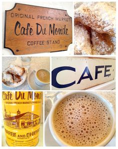 Cafe Du Monde, Chez Moi.  I LOVE this spot.