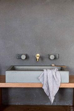 Brass Spouts & Timber Taps by Wood Melbourne.