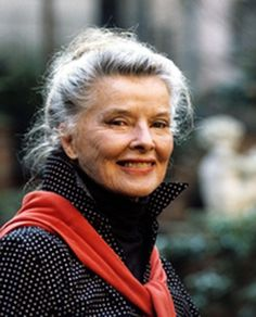 Katharine Hepburn...she aged with so much grace and style