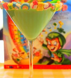 Click Pic for 23 St Patricks Day Cocktails - Magically Delicious Martini | St Patricks Day Party Ideas