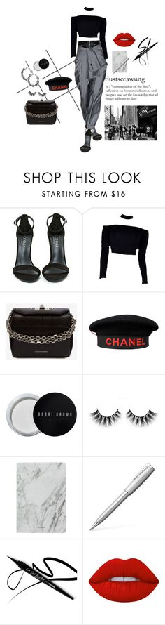 """""""Gone witH tHe wind"""" by badfashiong4l ❤ liked on Polyvore featuring Forum, Shoe Cult, Alexander Wang, Alexander McQueen, Chanel, Bobbi Brown Cosmetics, J.Crew and Lime Crime"""