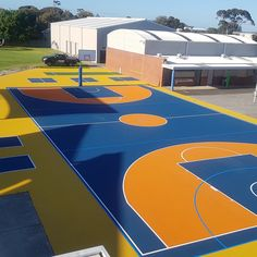 Another project completed to a high standard by our preferred installer using APTC's exclusive Supersoft product range to complete this multipurpose sports court at New Haven Primary School. Sports Turf, Green Roof System, Roofing Systems, Primary School, Melbourne, Construction, Range, Australia, Architecture