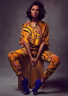 Its African inspired ~African fashion, Ankara, kitenge, African women dresses, A. - Women's style: Patterns of sustainability African Dresses For Women, African Attire, African Wear, African Women, African Style, African Inspired Fashion, African Print Fashion, Ethnic Fashion, African Prints