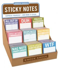 Calling All Clever FOKKers: What's Your Sticky Note Idea?