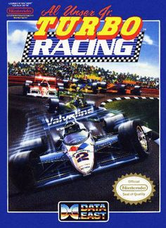 Al Unser's Turbo Racing - Boring. Boring uneventful game. Maybe if I was a huge Nascar fan I would like it? Oh is this not Nascar? I don't give a shit.