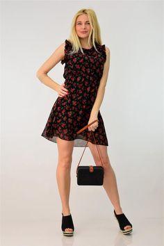 Φόρεμα φλοράλ κοντό | POTRE Summer Dresses, Floral, Collection, Vintage, Style, Fashion, Swag, Moda, Summer Sundresses