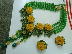 Stanley Hagler Ian St. Gielar Big Vintage Necklace Earrings