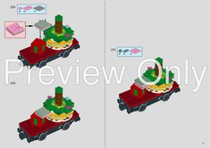 LEGO MOC Motorized and Improved Christmas Train - Locomotive and Tender Only by seejay   Rebrickable - Build with LEGO Lego Christmas Train, Holiday Train, Lego Trains, Lego Group, Lego Parts, Lego Moc, Steam Engine, Winter Holidays, Locomotive