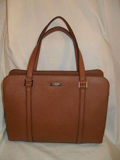 Kate Spade Brown CADENE NEWBURY LANE Tote Handbag Purse * #katespade #Tote