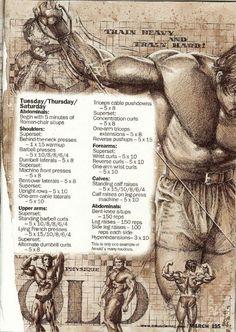 PART 6: Training Secrets Of The Oak - #bodybuilding #fitness #fit #xfit #crossfit #motivation #inspiration #strength #power #muscle #musclemass #mass #strong #training #workout #musclegains #diet #healthy #livingwell #MyBSisBoss