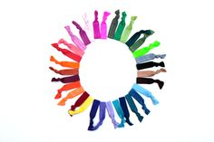 TheTwistBand.Com, So many colors to choose from. Match every outfit!  No Dents. Gentle on Hair. Made in the USA.