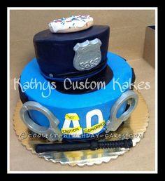Coolest Cop Cake