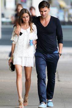 Olivia Palermo & Johannes Huebl - such an attractive couple