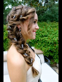 Homecoming hair idea!