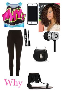 """""""Going to this place with mom"""" by zendaya090 ❤ liked on Polyvore featuring River Island, Free People, LORAC, Beats by Dr. Dre and Chloé"""