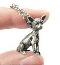 Chihuahua Charm w/ necklace