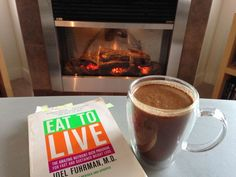 A fire, a great book and a creamy, thick hot chocolate! Perfect! This hot chocolate is actually GOOD for you and it has a twist!! I think you are going to love it - dairy free. Check out my blog for this recipe.
