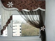 Cenefa con apliques y bordados Home Curtains, Curtains With Blinds, Kitchen Curtains, Valance Curtains, Valances, Drapery, Window Cornices, Window Coverings, Window Treatments