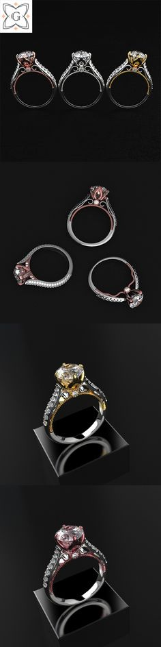 Jewerly Set Wedding Engagement Rings 21 Ideas For 2019 Perfect Image, Perfect Photo, Engagement Jewelry, Wedding Engagement, Love Photos, Cool Pictures, Photo Ring, Necklace Display, Pretty Rings