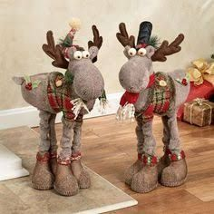 Resultado de imagem para christmas moose decorations
