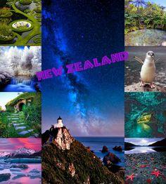 Dream vacay, New Zealand