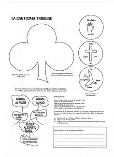 La Catequesis (El blog de Sandra): Recursos Catequesis Santísima Trinidad Santicima Trinidad, Craft Activities, Line Art, Bullet Journal, Papa Francisco, Christian, Education, Motivation, School