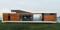 prefab modern homes | ... , modern prefab home during the exciting new Prefab Showcase