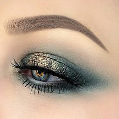 Imagem de eyes, makeup, and cosmetics