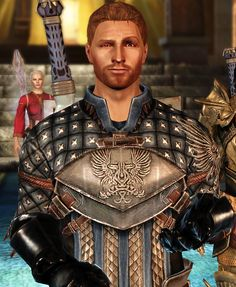 That arched brow, makes me laugh every time. Alistair <3 Dragon Age: Origins