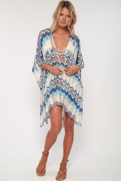 goddis summer knit poncho v neck sheer stripe detail loose boho beach – Goddis Knitwear