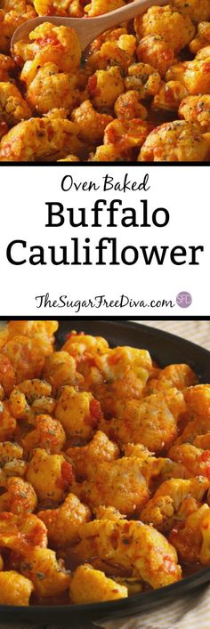 Oven Baked Buffalo Cauliflower--This recipe for Oven Baked Buffalo Cauliflower is the perfect #easy #veggies  #recipes #recipeoftheday  #recipeideas That you may also like for #tailgating #dinnertime or  #snack