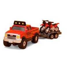 Tonka Die Cast Fire Dept Truck with Red ATV $12.99  #BestRevews