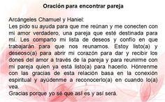 #UniversoDeAngeles  Oración para encontrar pareja.