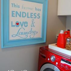 Free Laundry Room Printable