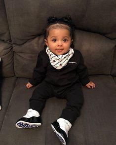 old ❤️Heiress Janae❤️mom Hispanic dad African American Cute Mixed Babies, Cute Black Babies, Beautiful Black Babies, Cute Babies, Beautiful Dolls, Cute Kids Fashion, Baby Girl Fashion, Toddler Fashion, Cute Little Girls Outfits