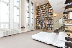 books in the bedroom