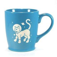 Astronaut Cat Mug